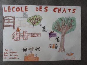 """Aéla 17/03/2020, Thème """"Chat"""""""